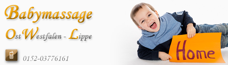 Babymassage Kurs OWL Kreis Lippe Lemgo Kalletal - DGBM - Mutter-Kind-Bindung
